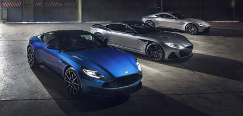 Aston Martin to build EVs in the UK from 2025
