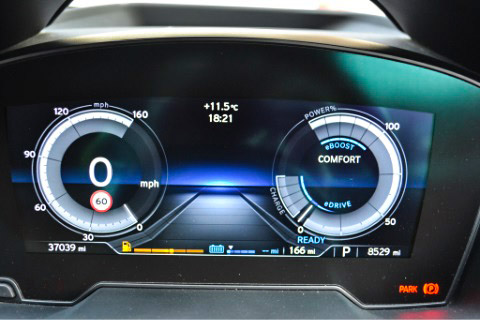 Front drivers display i8