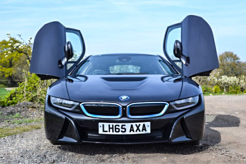 i8 doors from the front