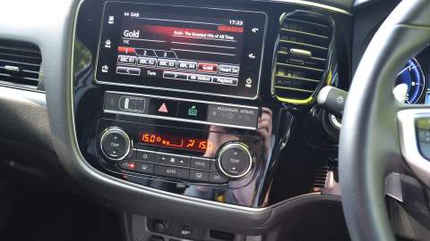 The infotainment system