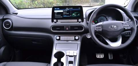 Hyundai Electric Kona dash