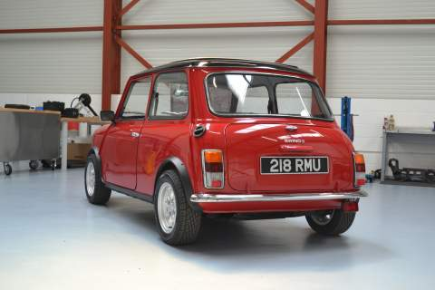 The E Classic Mini Cooper