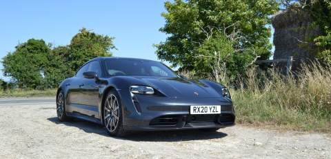 2020 Porsche Taycan Turbo Review