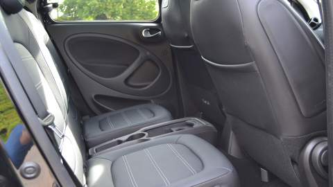 Rear seats of the ForFour