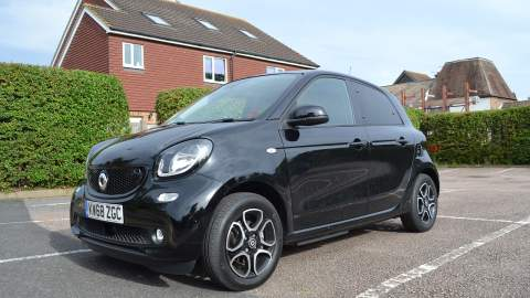 Front side view of the ForFour