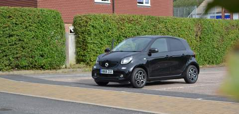 2019 Smart EQ forfour review